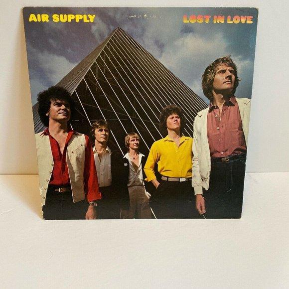 Other - Vintage Air Supply - Lost In Love- Vinyl LP